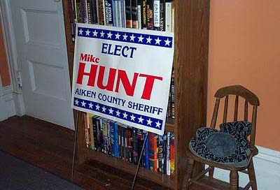 Elect MIKE HUNT Aiken County Sheriff