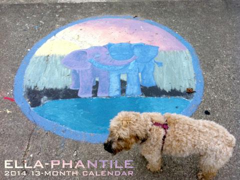Ella-Phantile 2014 13-Month Calendar
