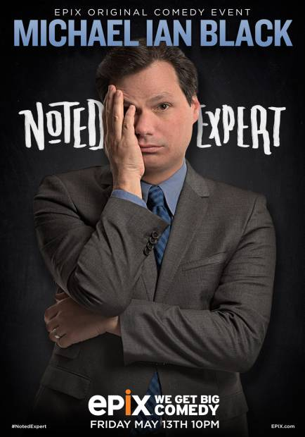 Michael Ian Black: NOTED EXPERT on Epix
