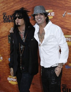 Nikki Sixx and Tommy Lee
