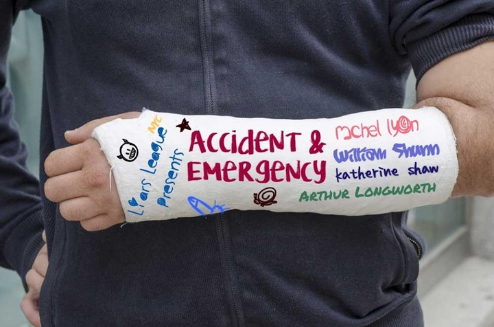 Liars&8217; League NYC Presents Accident & Emergency