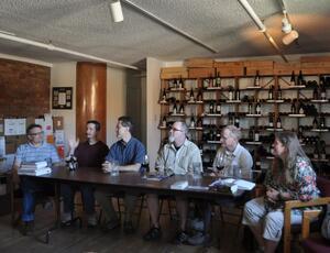 Wine Loft Panel Discussion, June 24, 2010