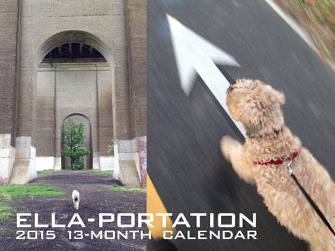 Ella-Portation 2015 13-Month Calendar