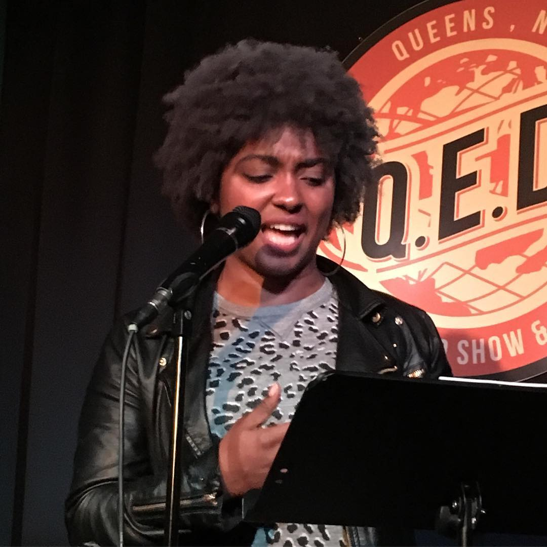 Berry reads at Line Break #3
