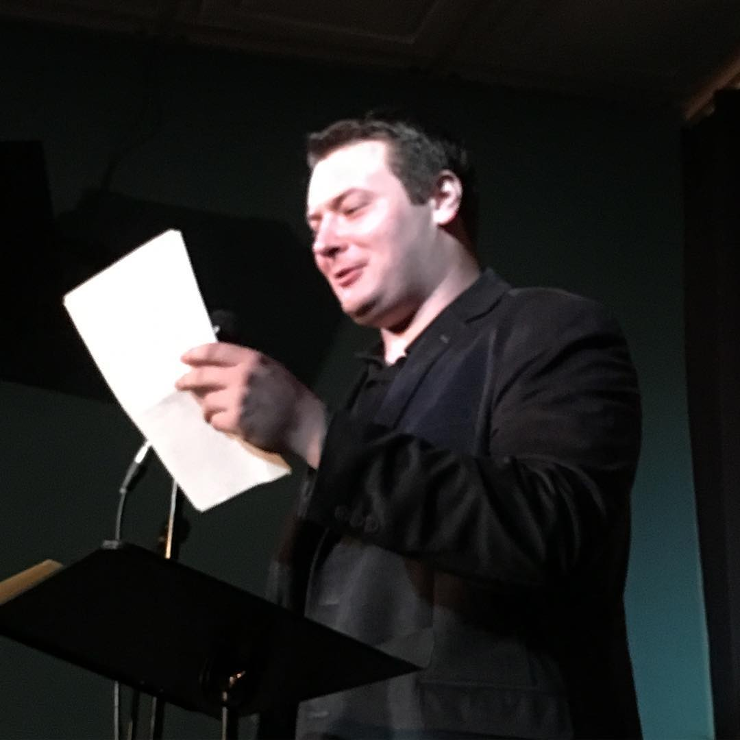 Jeremy Blutstein reads at Line Break #3