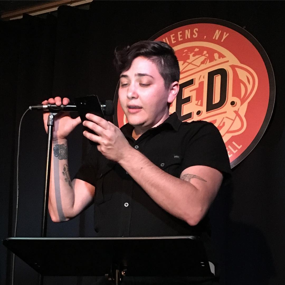 Alex DiFrancesco reads at Line Break #3