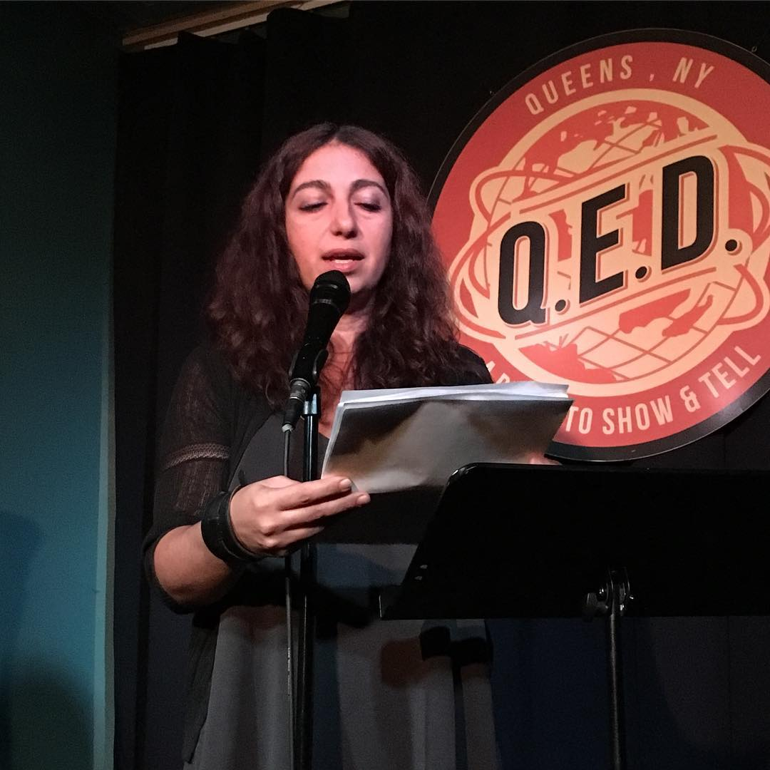 Aida Zilelian reads at Line Break #3
