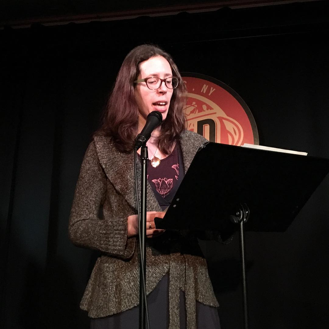 Sydney Beveridge reads at Line Break #4