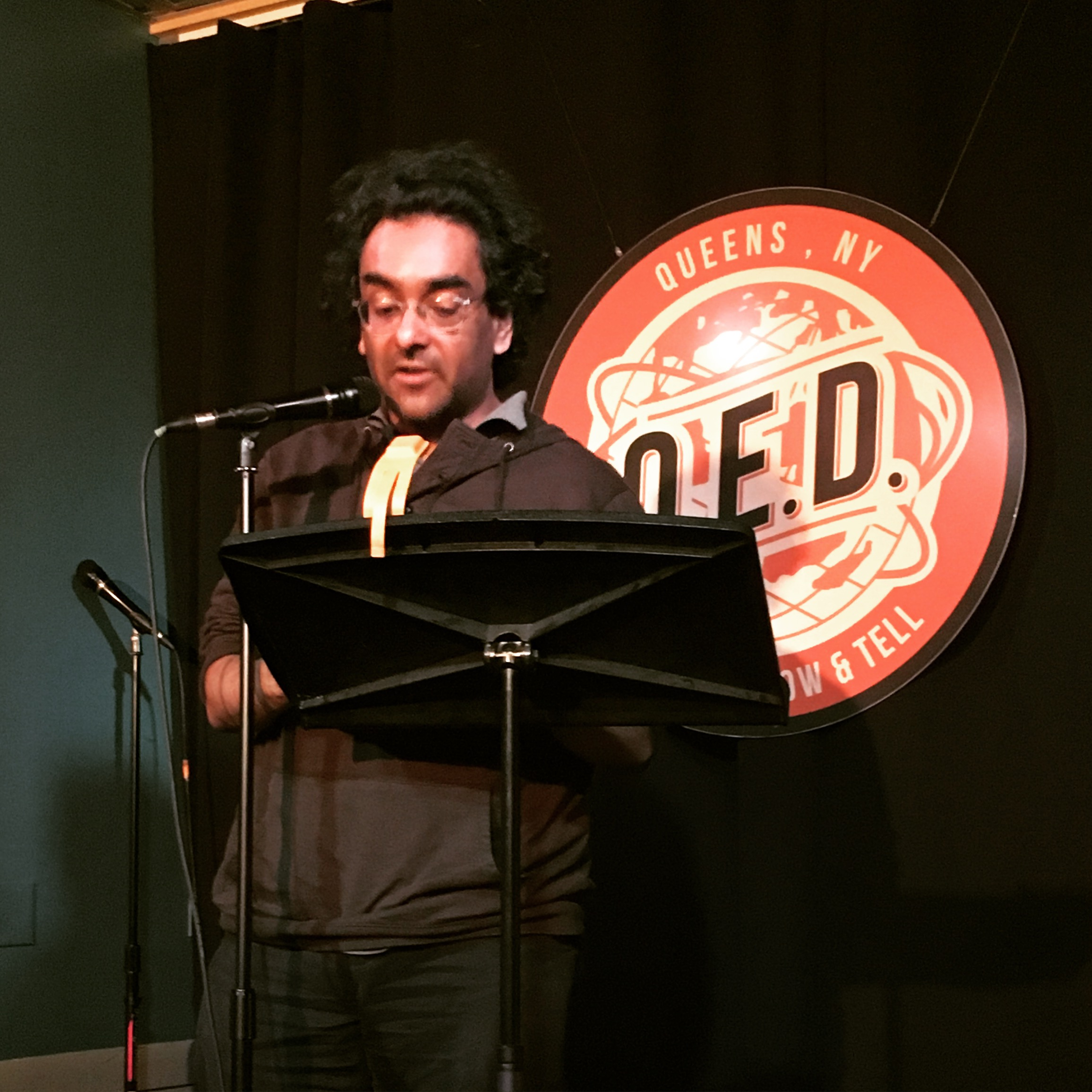 Mark de Silva reads at Line Break