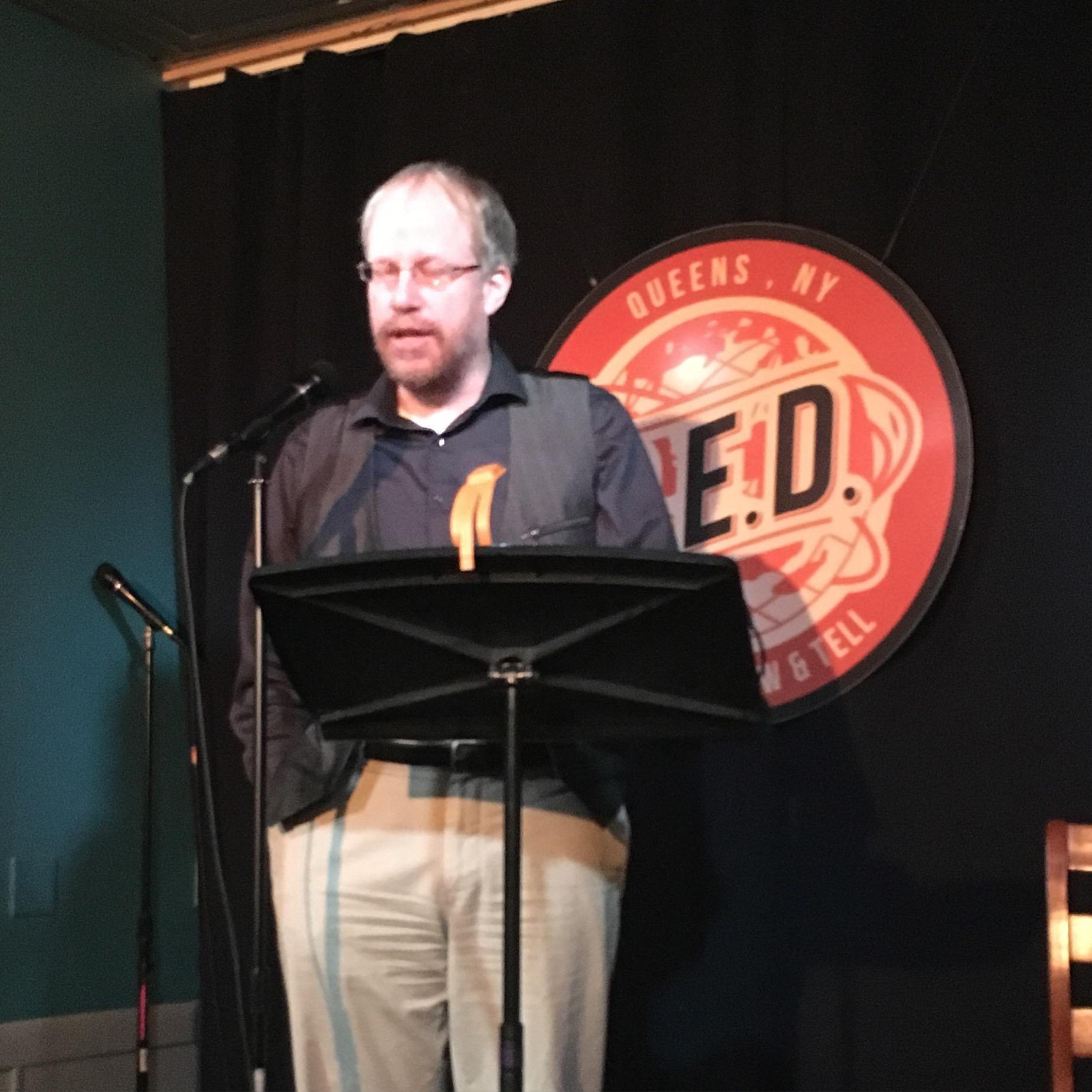 Gregory A. Wilson reads at Line Break