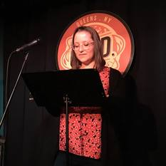 Jackie Sherbow reads at Line Break #6 - click to view - mousewheel to zoom
