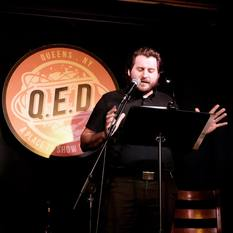 William Cusick reads at Line Break #9 - click to view - mousewheel to zoom