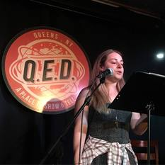 Stephanie Grossman reads at Line Break #9 - click to view - mousewheel to zoom