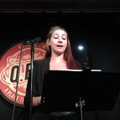 Amanda Claire Buckley reads at Line Break #11 - click to view - mousewheel to zoom