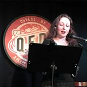 Ilana C. Myer reads at Line Break #12 - click to view - mousewheel to zoom