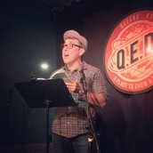 Steven Alvarez reads at Line Break #22 - click to view - mousewheel to zoom