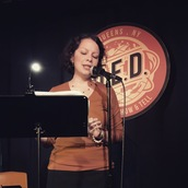 Stephanie Laterza reads at Line Break #24 - click to view - mousewheel to zoom