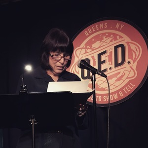 Eleanor Lerman reads at Line Break #24 - click to view - mousewheel to zoom