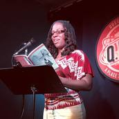 Sherese Francis reads at Line Break #19 - click to view - mousewheel to zoom