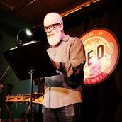 Host William Shunn reads at Line Break #20 - click to view - mousewheel to zoom