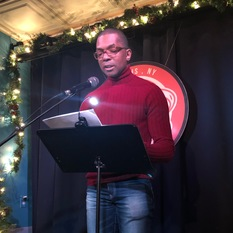 Joe Okonkwo reads at Line Break #25 - click to view - mousewheel to zoom