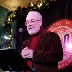 Host William Shunn reads at Line Break #25 - click to view - mousewheel to zoom